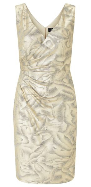 Dolce Gold Wrap Dress